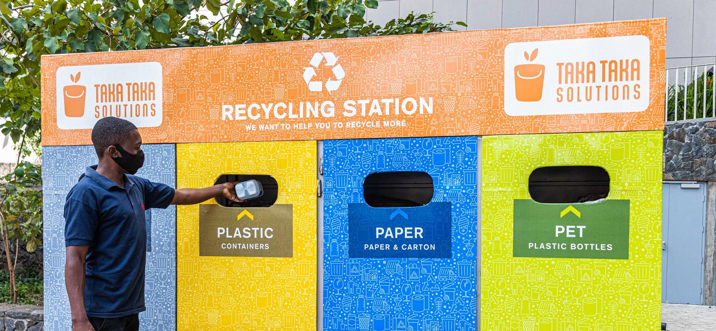 public-recycling-station-kenya-nairobi